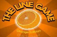 The Line Game Orange