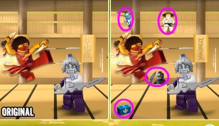 Ninjago With Differences
