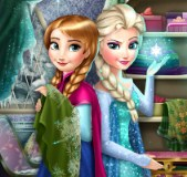Elsa and Anna Fashion Rivals