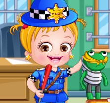 Baby Hazel Police Dress-Up