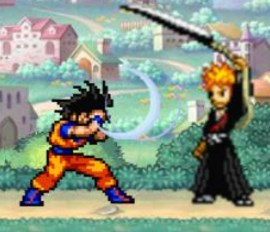 Fighting Luffy Vs Naruto
