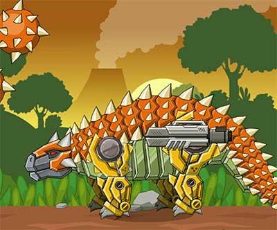 Toy War Robot Ankylosaurus