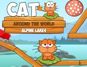 Cat Around the World: Alpine Lakes